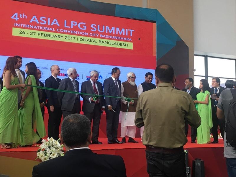 Atiker 26-27 Şubat 2017 tarihlerde gerçekleşen Bangladeş'teki 4. Asya LPG Zirvesi'ne katıldı.