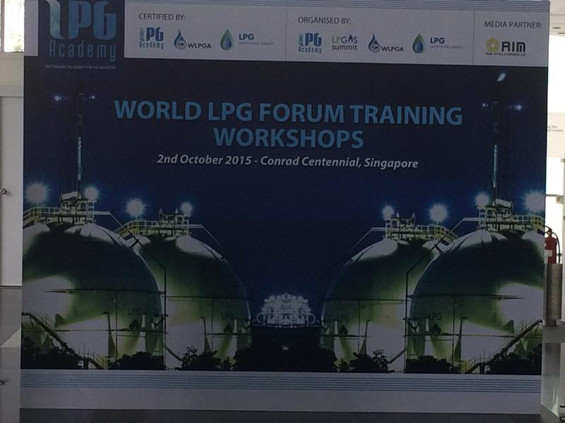 Atiker, dünyanın en büyük LPG etkinliği olan Singapur'daki 28. Dünya LPG Forumuna katıldı