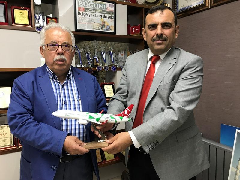 THY, Konya Satış Müdürü Ahmet Postallı
